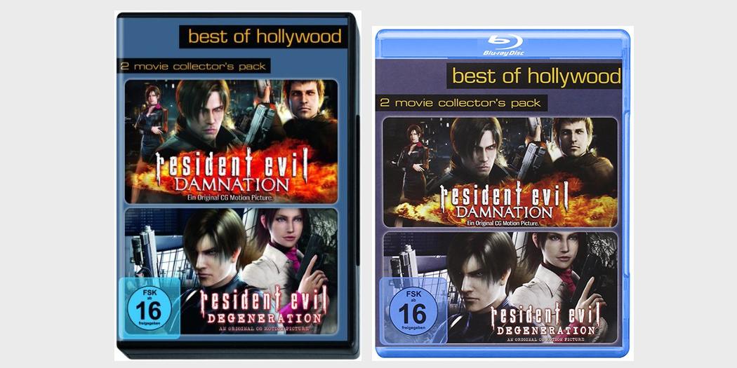 Resident Evil: Degeneration / Resident Evil: Damnation Collector's Pack