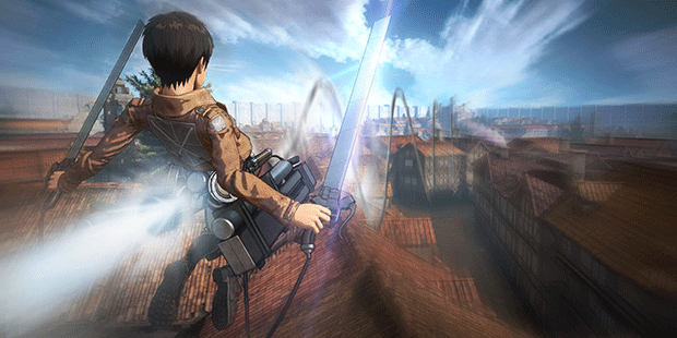 "©Hajime Isayama,Kodansha/""ATTACK ON TITAN""Production Committee. All Rights Reserved. ©2015-2016 KOEI TECMO GAMES CO., LTD."