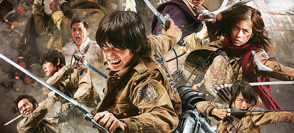 Gewinnspiel Attack on Titan im Kino