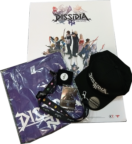 DISSIDIA FINAL FANTASY NT-Fan-Paket