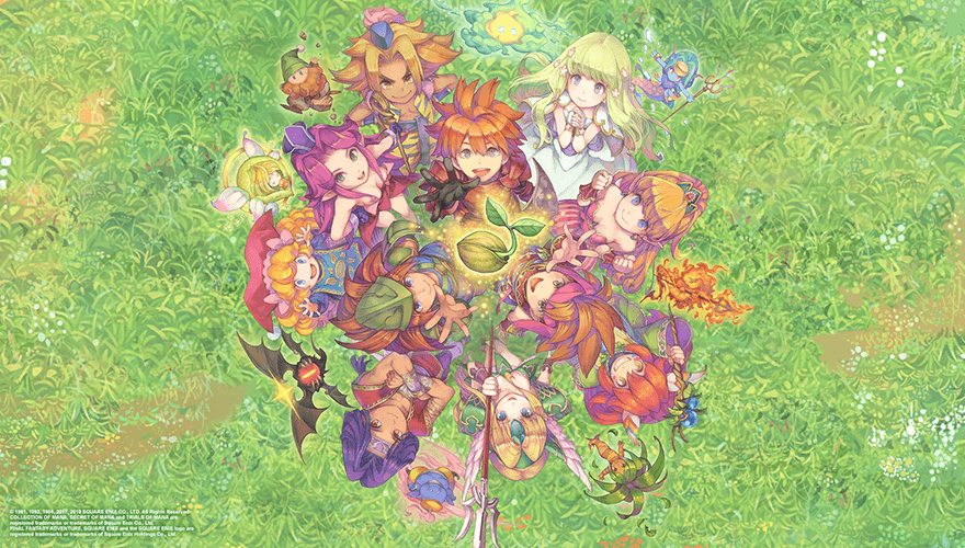 Collection of Mana, Trials of Mana