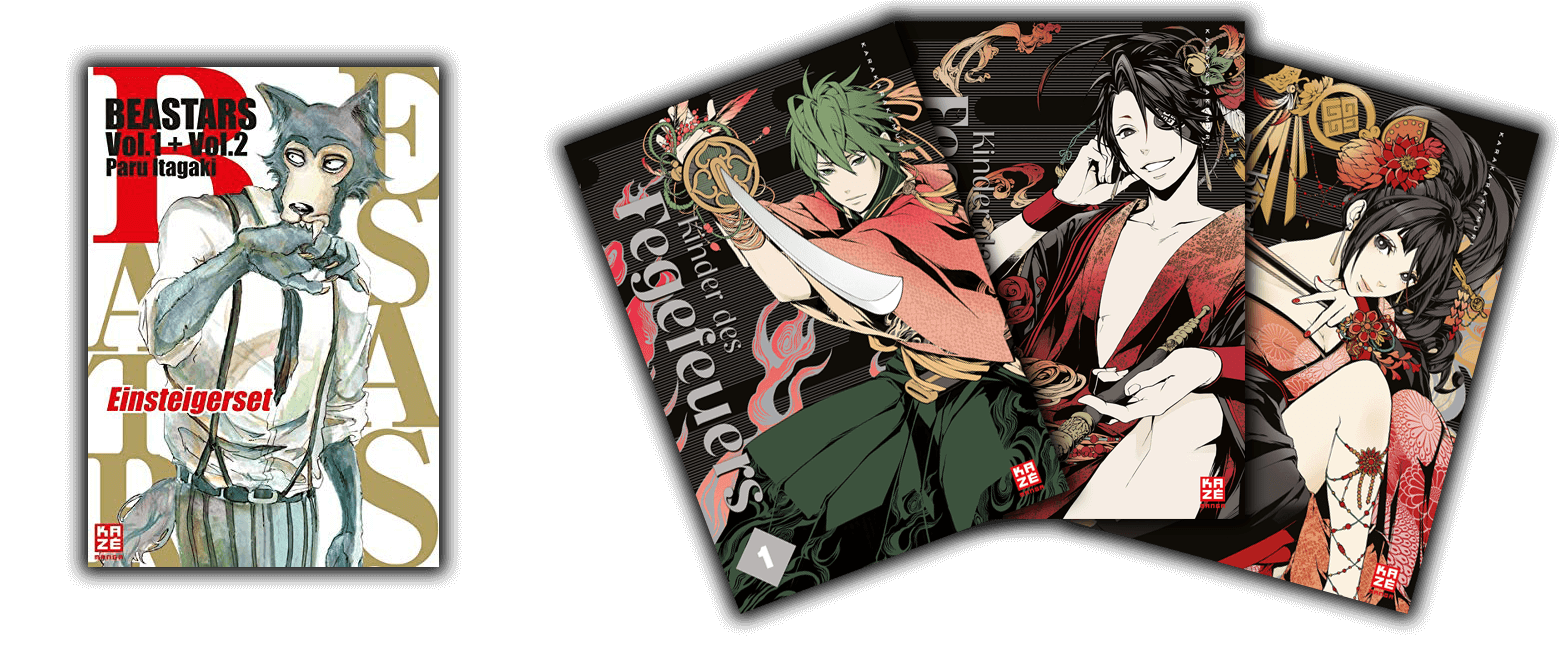 KAZÉ Manga