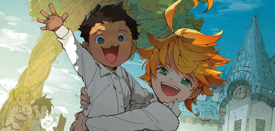 The Promised Neverland GWS Header
