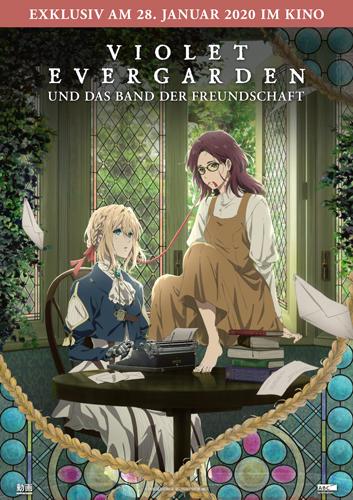 Violet Evergarden und das Band der Freundschaft Poster