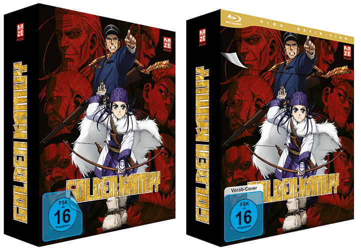 Golden Kamuy Packshots