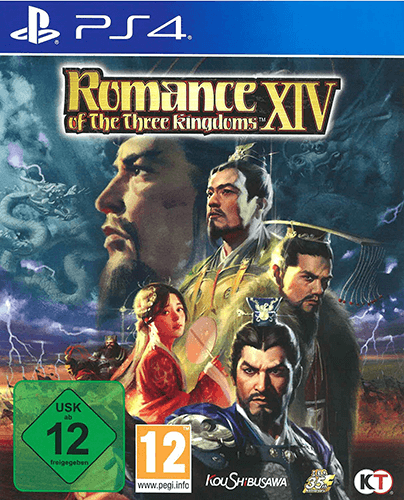 Romance of The Three Kingdoms XIV PS4 Packshot