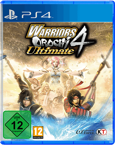 Warriors Orochi 4 Ultimate Packshot PS4