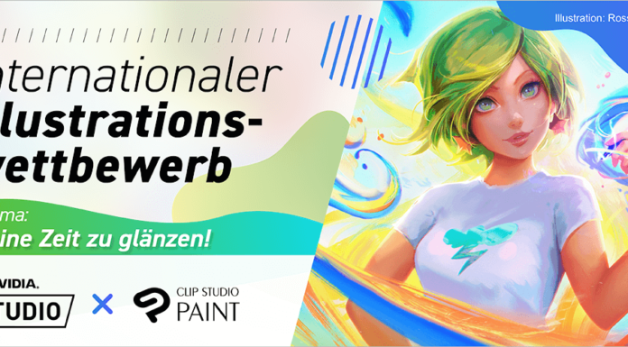 Illustrationswettbewerb von CELSYS und NVIDIA Studio