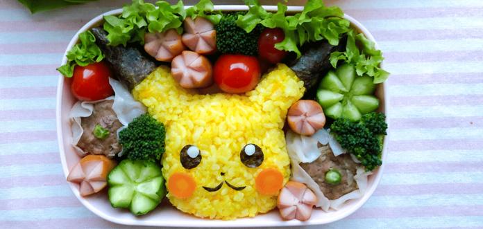 Pikachu-Bento